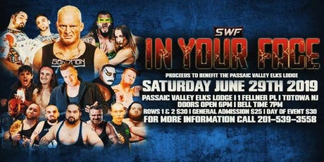 SWF Wrestling Totowa New Jersey tickets