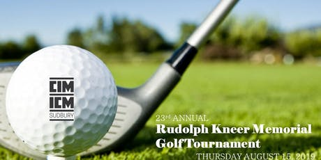 CIM Sudbury Branch - Golf Tournament tickets