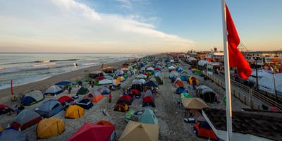 Seaside Heights Overnight Beach Camping - August 30