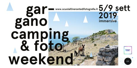 Gargano foto & camping weekend biglietti