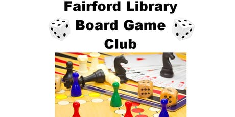Fairford Library - Board Game Club tickets