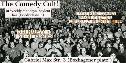 The Comedy Cult! - Free Stand-Up Comedy Service, Friedrichshain!