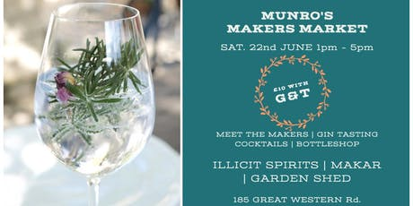 Munro's Makers Market tickets