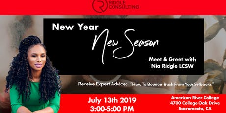 New Year, New Season Meet & Greet with Nia Ridgle tickets