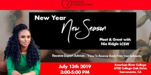 New Year, New Season Meet & Greet with Nia Ridgle