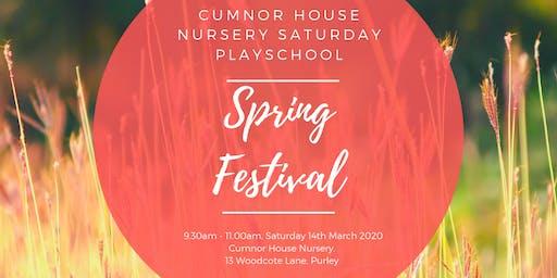 14th March 2020 - CHS Purley Saturday Play School - Spring Festival