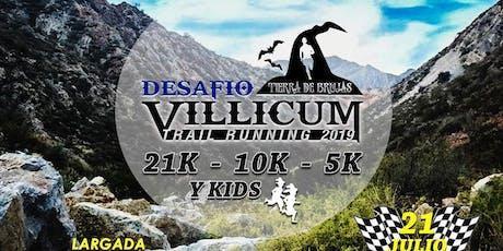 DESAFIÓ VILLICUM - TIERRA DE BRUJAS  entradas