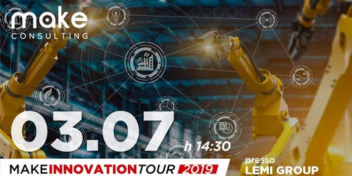 "MakeInnovationTour ""LEAN TRASFORMATION E INDUSTRY 4.0"""