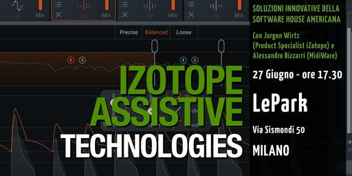iZotope Assistive Technologies - Workshop