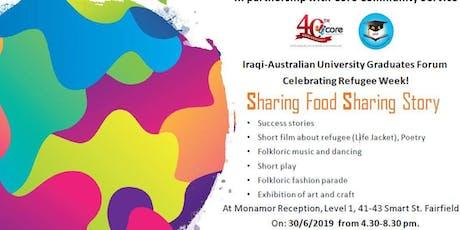 Celebrating Refugee Week 2019 - Sharing Food Sharing Story tickets