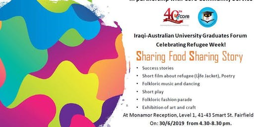 Celebrating Refugee Week 2019 - Sharing Food Sharing Story