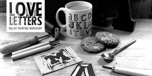 Love Letters X Provide Urban Type Walk & Workshop