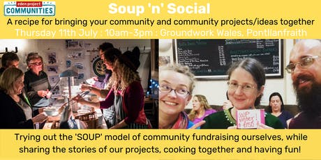 Soup n Social - a recipe for Community Networking tickets