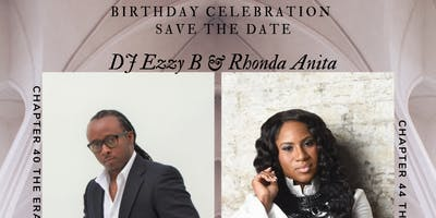 Rhonda Anita & DJ Ezzy B Birthday Celebration