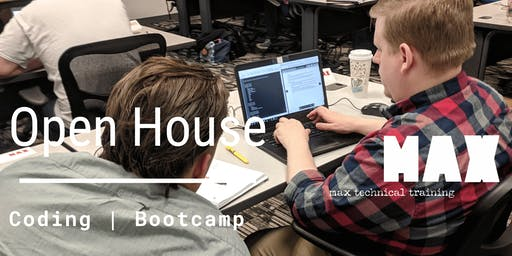 MAX Coding Bootcamp Open House