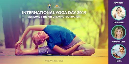International Yoga Day 2019 in Los Angeles