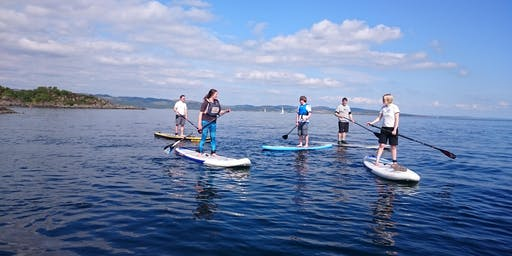 SUP Central Scotland Summer Solstice Paddle