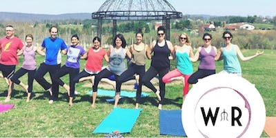 Yoga in the Vines- July