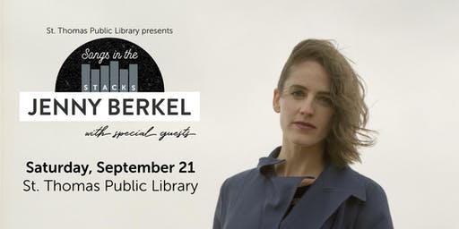 Songs in the Stacks: An Evening of Music with Jenny Berkel