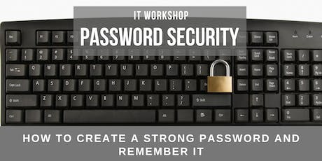 IT Workshop: Password Security tickets