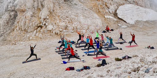 Mountaintop Yoga on Kanin