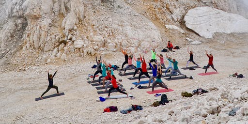 Mountaintop Yoga on Kanin