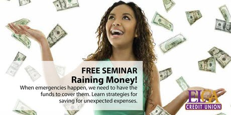 Raining Money! - Saginaw tickets