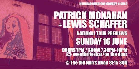Nunhead American Comedy Night - Short Notice Comedy tickets