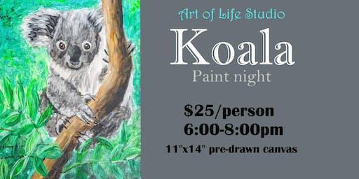 Paint Night: Koala
