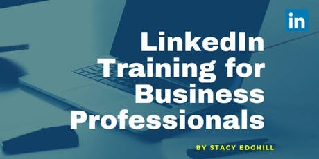 LinkedIn Training for Business Professionals tickets