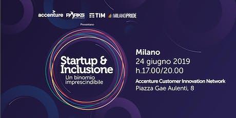 Startup & Inclusione - Un binomio imprescindibile biglietti