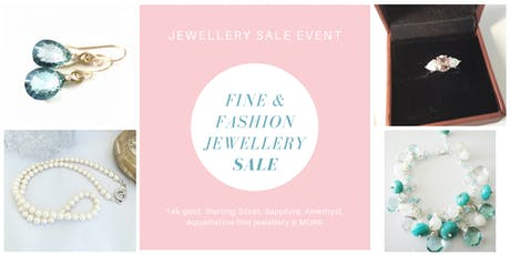 DISCOUNTED JEWELLERY SALE EVENT - EXTRA 10% OFF for all those who attend tickets