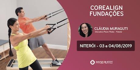 Formação em CoreAlign - Módulo Fundações - Physio Pilates Balanced Body - Niterói ingressos