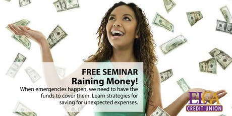 Raining Money! - Flushing tickets