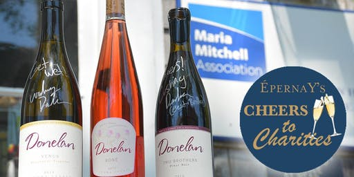 CHEERS TO CHARITIES WINE TASTING: MARIA MITCHELL ASSOCIATION
