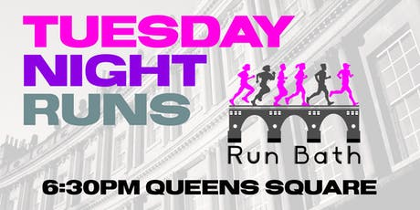 Run Bath - Tuesday Night Runs - 30 July tickets