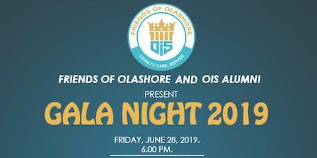 Friends of Olashore/OIS Alumni Gala Night tickets