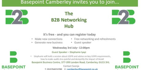 Basepoint Camberley Networking Hub tickets