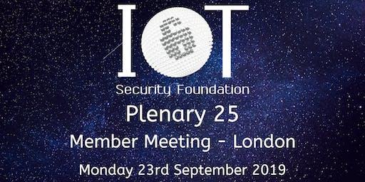 IoTSF Member Plenary 25