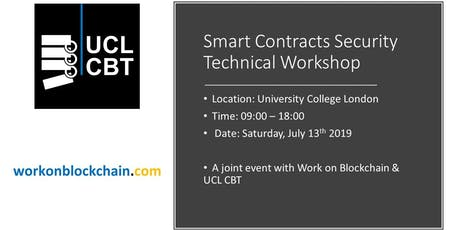 FREE Full-day Smart Contracts Security Technical Workshop tickets