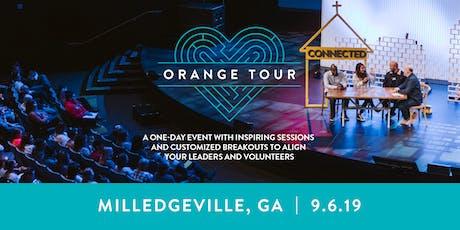Orange Tour: Milledgeville tickets