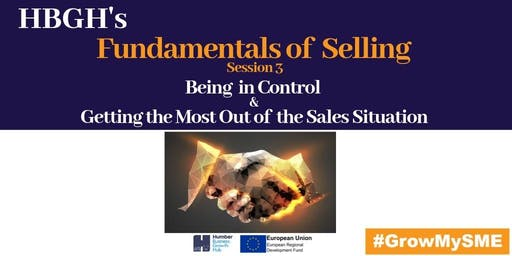 Fundamentals of Selling Session 3: Controlling the Sales Situation