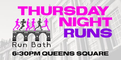 Run Bath - Thursday Evening Runs - 27th June tickets