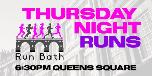 Run Bath - Thursday Evening Runs - 27th June