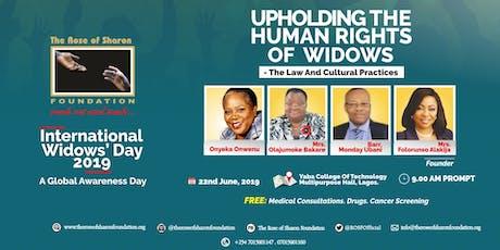 ROSF International Widows' Day 2019 tickets