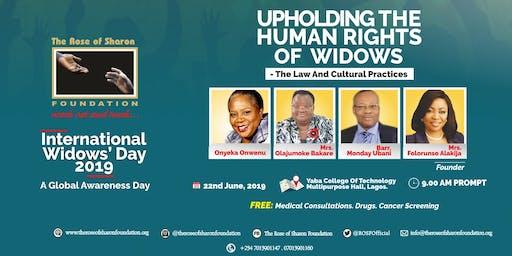 ROSF International Widows' Day 2019