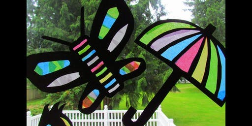 Stained Glass Children's Craft @ Chingford Library