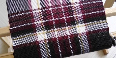 Tartan Scarf Loom Weaving Workshop with The Dunmore Weaver tickets
