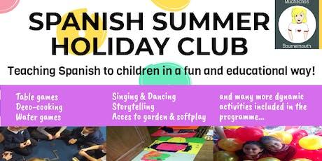 SPANISH SUMMER HOLIDAY CLUB tickets