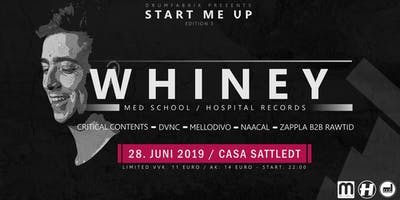 Drumfabrik pres.: Start me up w/ Whiney